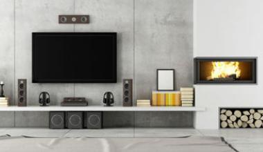 Designer Concrete Living Area